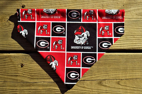 University of Georgia Bandana or Bowtie