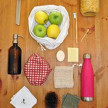 accessoires zéro déchet et alternatives durables