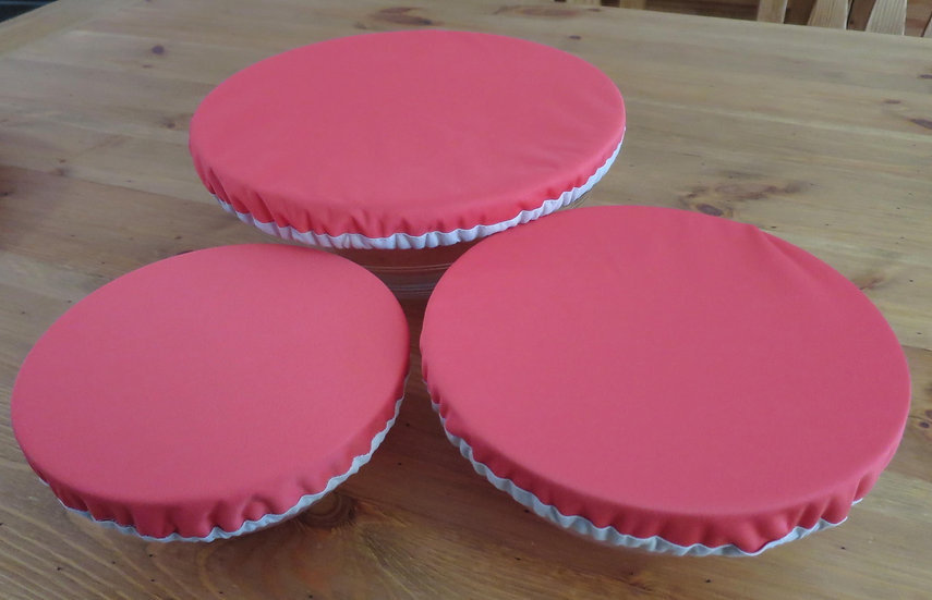 Le lot de 3 couvre-plats imperméables zéro déchet