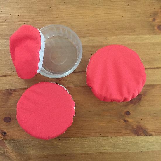 Le lot de 3 couvre-plats imperméable zéro déchet taille XS