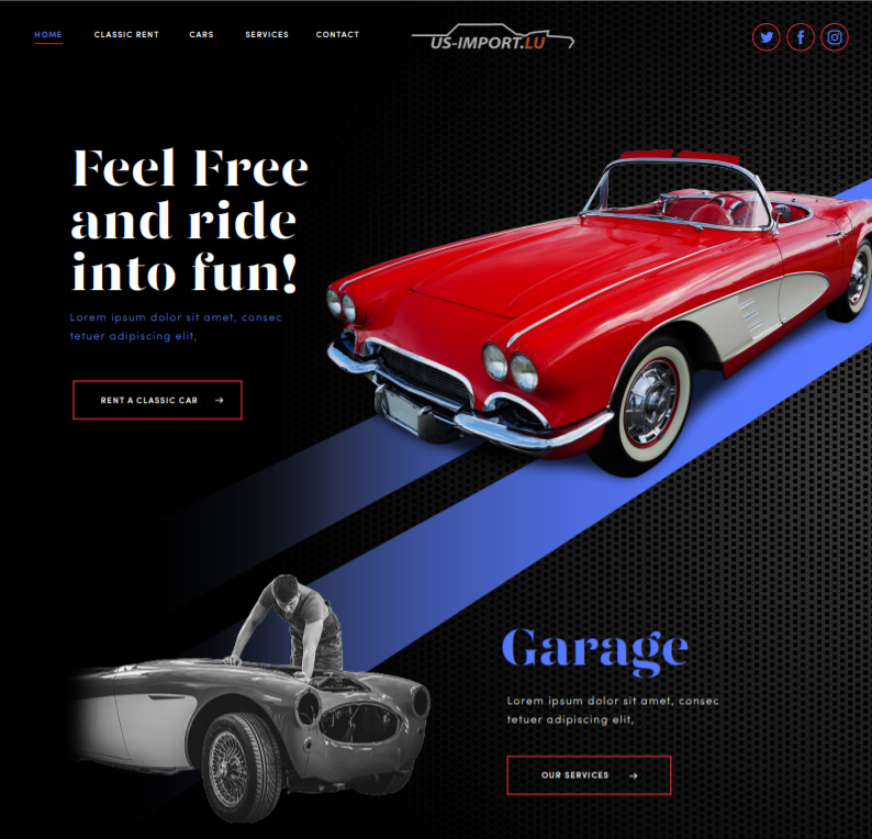 Cars website