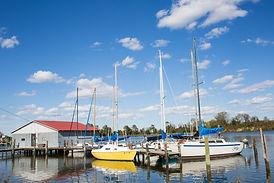 Sailboats-in-Marina-Urbanna-Virginia-sca