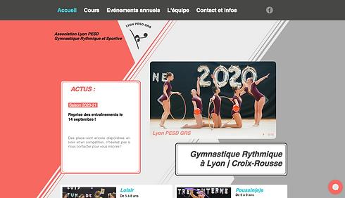 Lyon PESD GRS Gymnastique rythmique Croix-Rousse