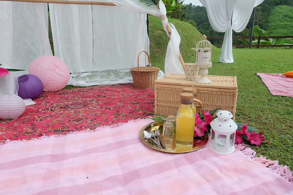 Picnic Setup2 Yuna Wedding