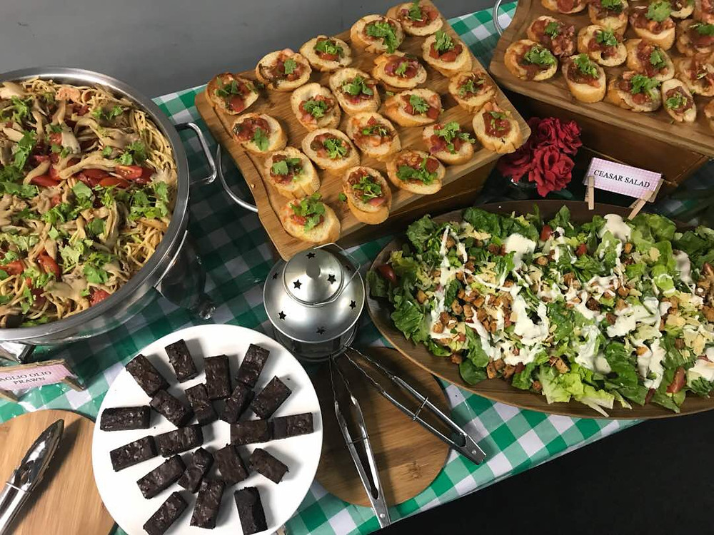 Green themed Event Catering