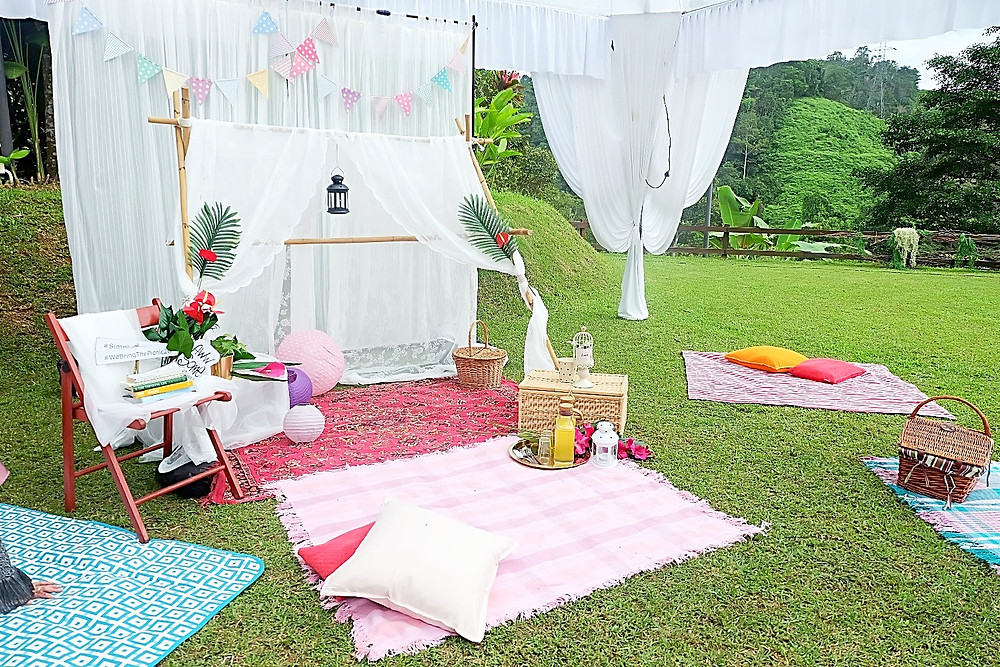 Picnic Setup Yuna Wedding