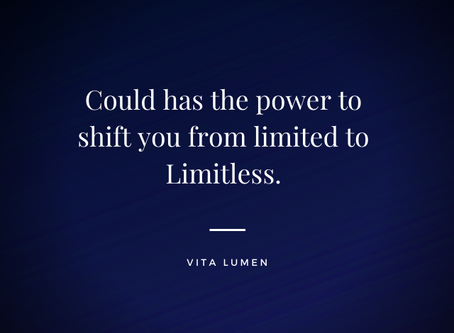 Could has the power to shift you from limited to limitless