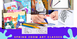 Online Art Classes via Zoom