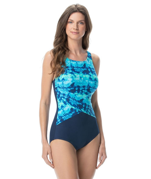 Gabar High Neck Swimsuit