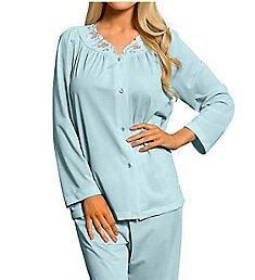 Shadow Line Petal Pajama Set