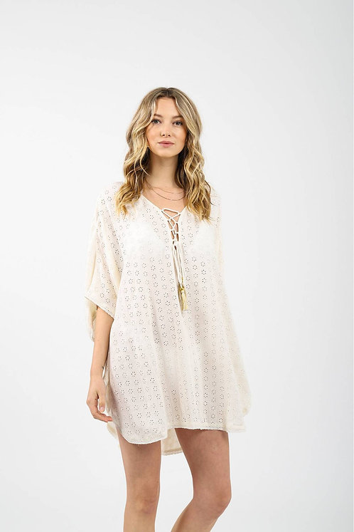Koy K2028 Lace up Tunic