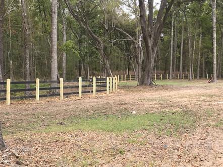 3 Rail Wood Fence