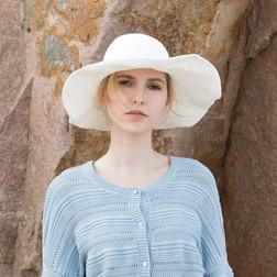 雅菲特系列遮陽帽 - 米白.jpg