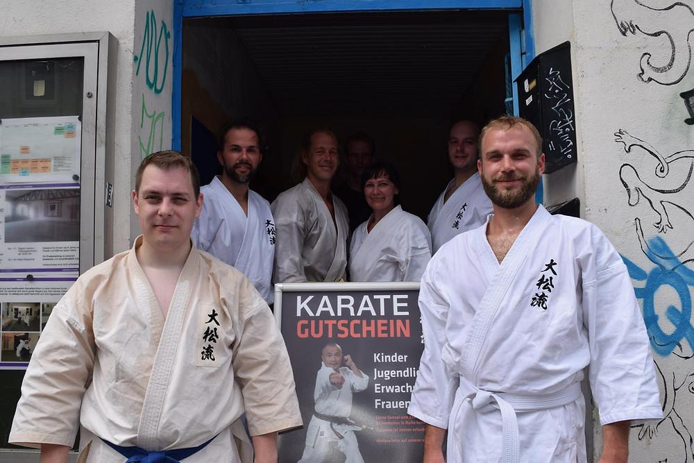 Daisho Ryu Karate Bremen: Dojo News August