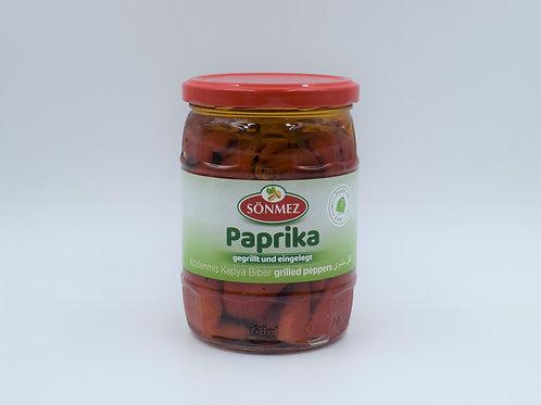 Sönmez Paprika gegrillt und eingelegt 520g