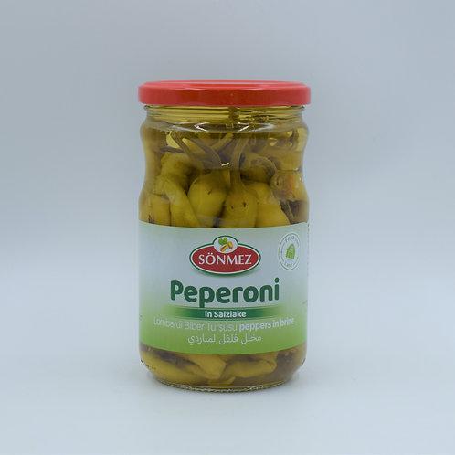 Sönmez Peperoni in Salzlake 540g