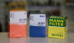 Knecht Mahle and Mann filters