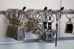 Branded keyrings
