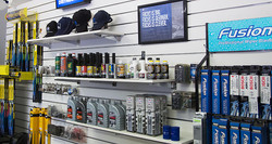 Parts and accessories shop