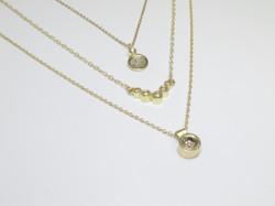 Gold + Diamond Pendants