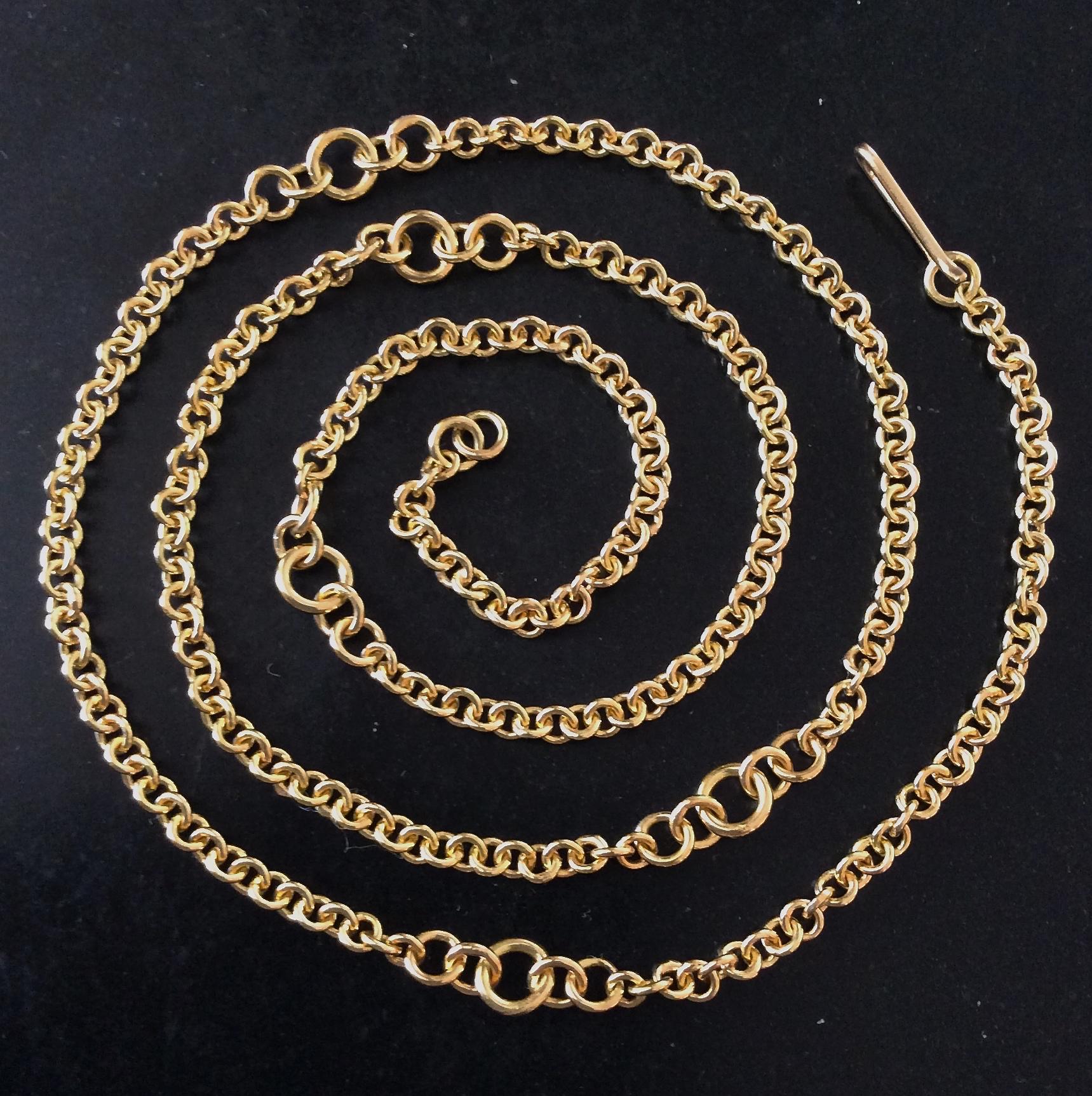 Handmade Gold Chain
