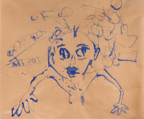 """""""Retrato espontáneo de un recién levantado"""""""