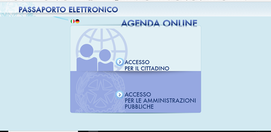 como fazer passaporte italiano