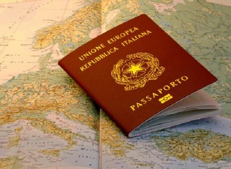 Como fazer o Passaporte Italiano na Itália