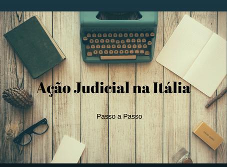 Ação Judicial Na Itália Passo a Passo