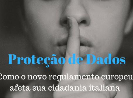Proteção de Dados Pessoais Europeia