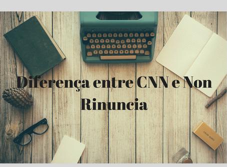 Diferença entre CNN e Atestado de Não Renúncia