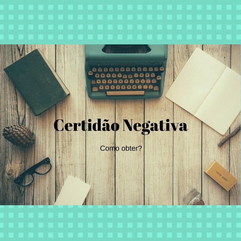 certidão negativa de registro civil