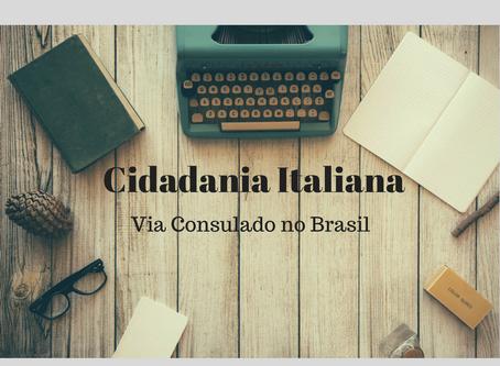 Cidadania Italiana via Consulados no Brasil