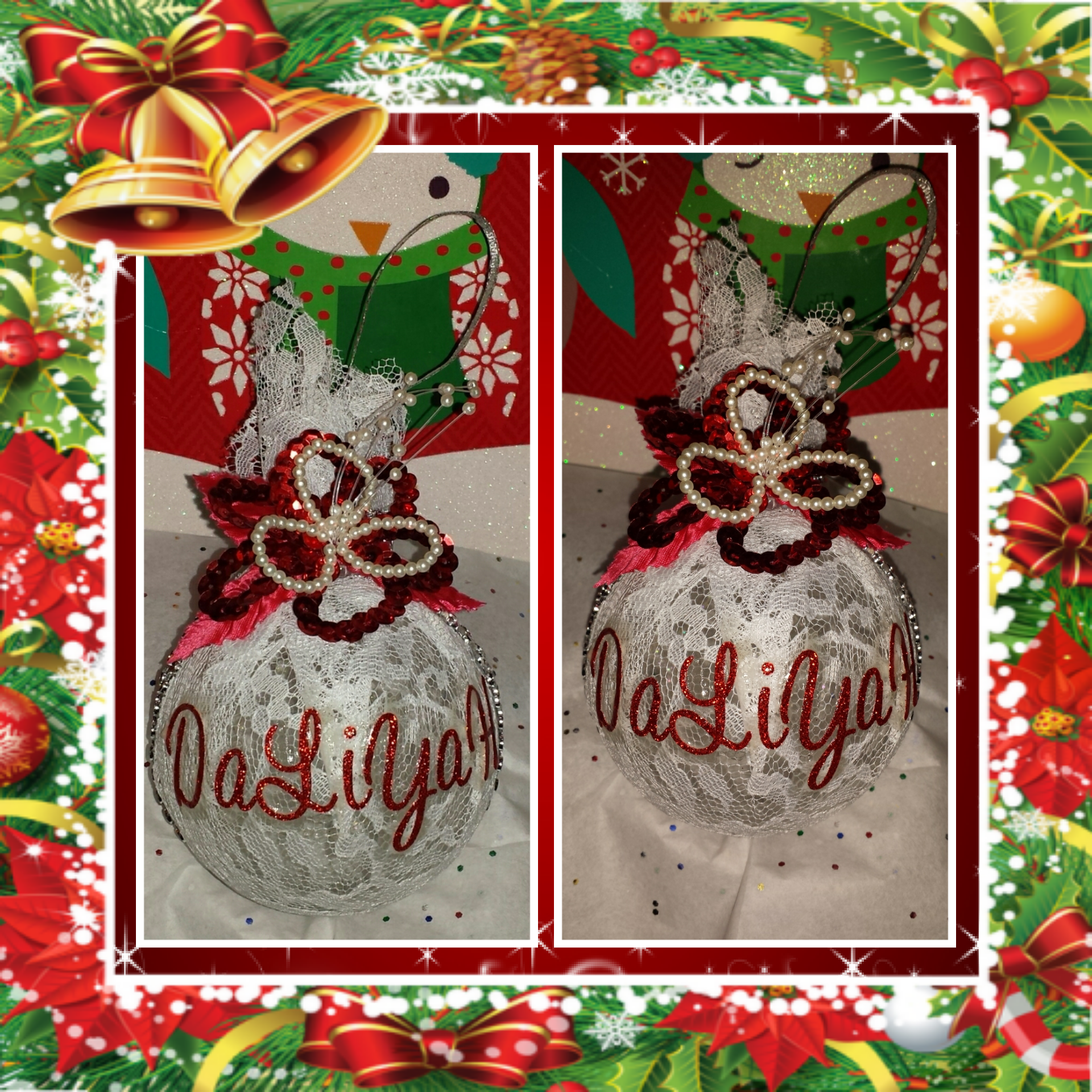 Custom made gift for Christmas