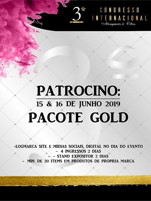 Pacote patrocino GOLD