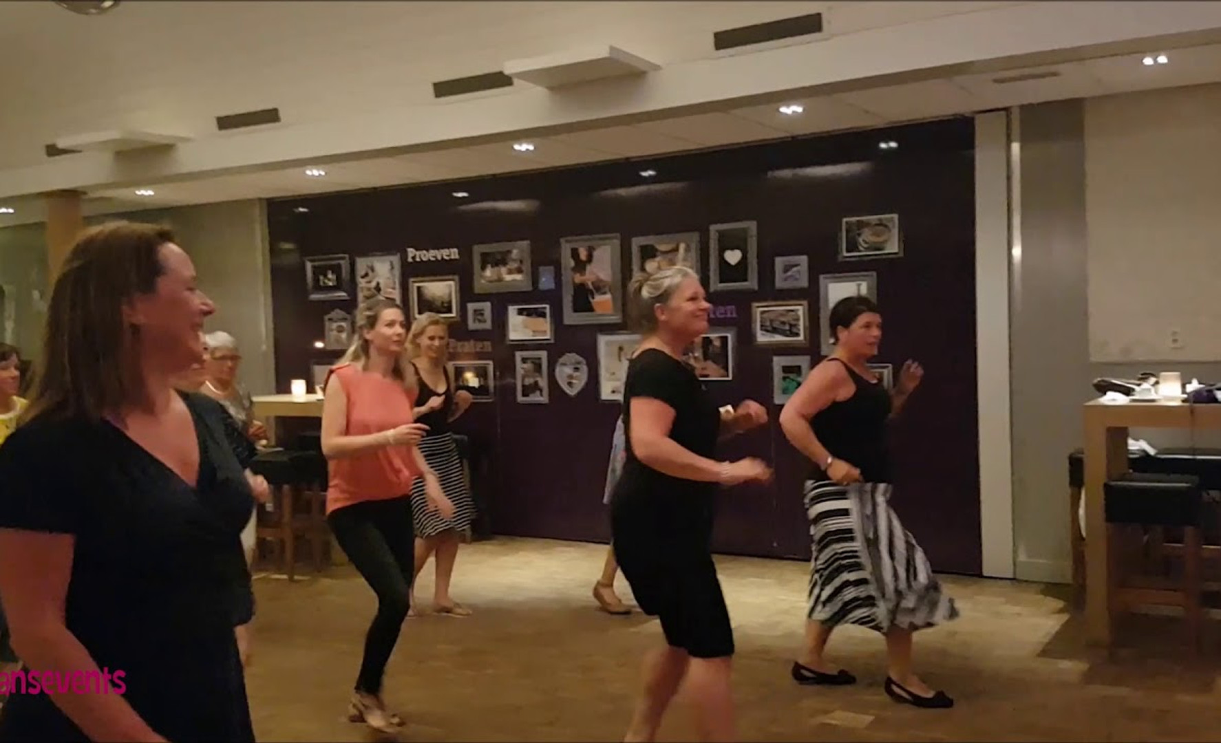 Dansevents video Salsa & Bachata Wervershoof