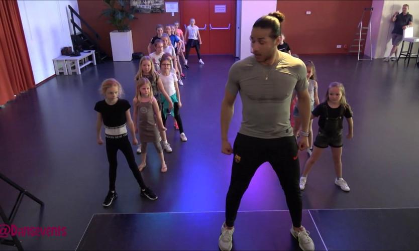 Dansevents workshop Hip-Hop kids