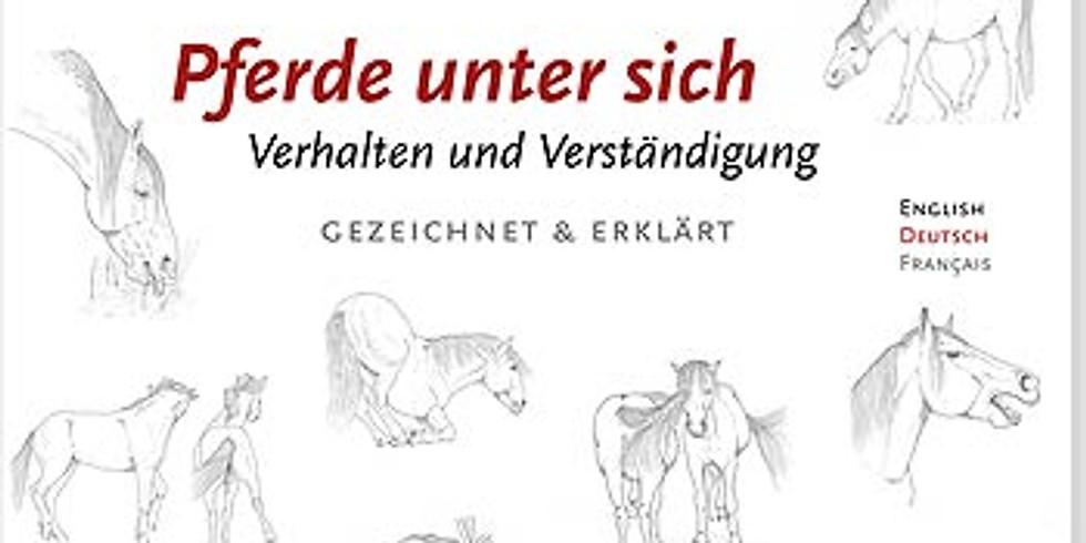 """Angela Glatthaar - Vortrag zu Ihrem Buch """"Pferde unter sich - Verhalten und Verständigung"""""""