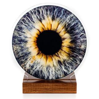 Acrylglas mit Fuss