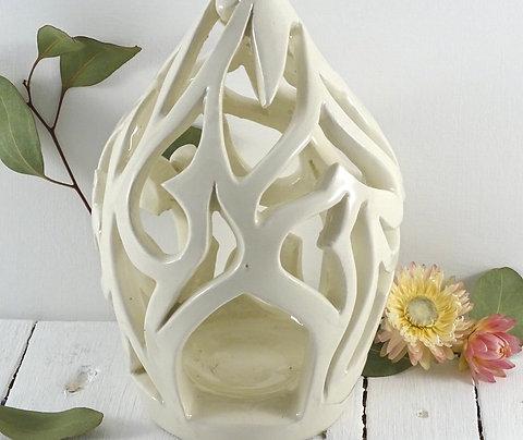 Photophore en céramique