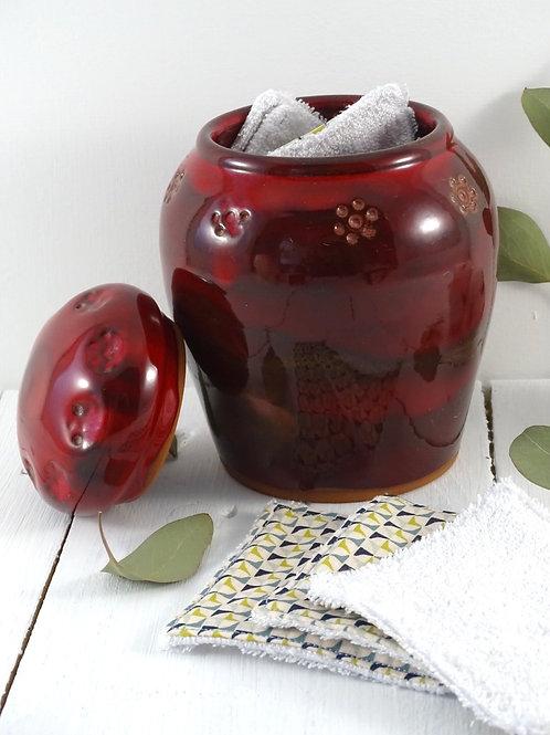 Pot à lingettes