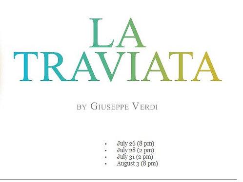 LA TRAVIATA- JULY 28th @ 2 PM
