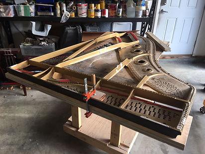 Piano Rebuilding in Alaska. Alaska Piano Services Inc. Rebuilding fine quality Pianos statewide.