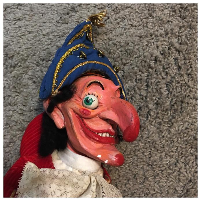 Punch puppet detail