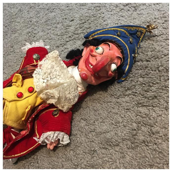 Punch puppet (sculpture)
