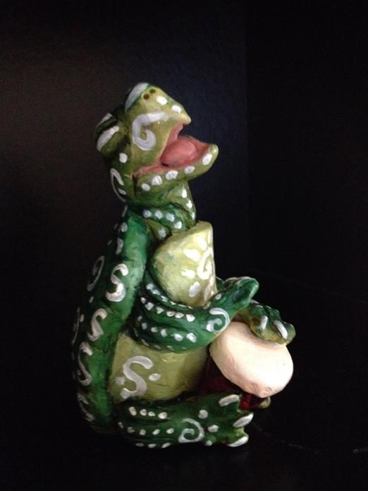 Turtle Spirit Drumming (sculpture)