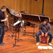 Jason and Nick Meyers performing at North Dakota State University