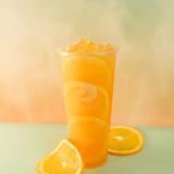 Navel orange jasmine green tea