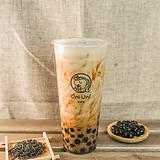Ancient brown sugar milk tea w/ tapioca