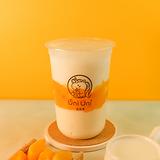 Peach yogurty w/ crystal boba